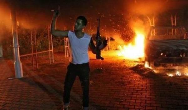 Benghazi s'est enflammée la nuit dernière.