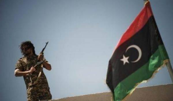 Un soldat libyen.