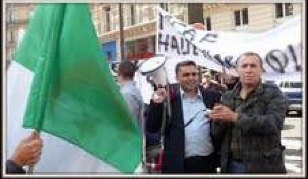 Le rassemblement du Mcaf a réuni des dizaines d'émigrés algériens à Paris.