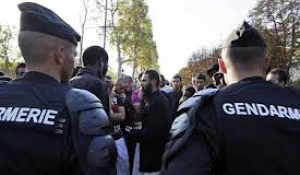 Les salafistes ont tenté de manifester à Paris.