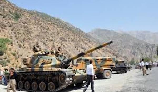 L'armée turque est confrontée régulièrement aux combattants du PKK.