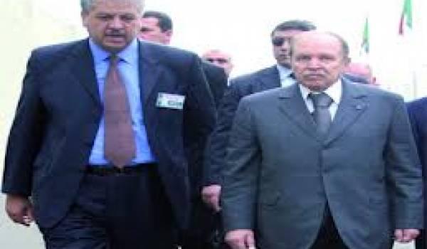 Sellal et Bouteflika, le duo se reforme comme en 2004 et 2009.