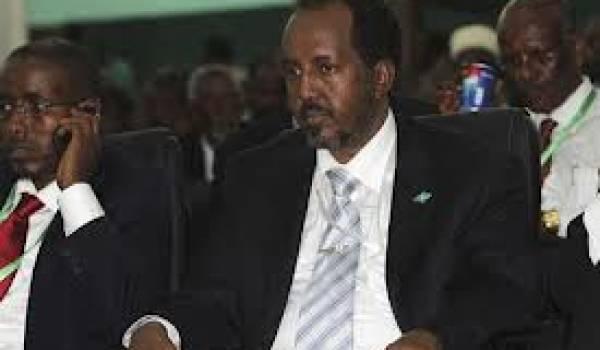 Le président somalien Hassan Cheikh Mohamoud
