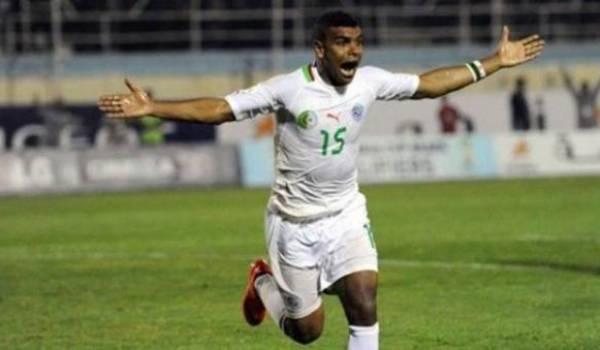 Larbi Hillal Souidani a libéré l'équipe à deux minutes de la fin.