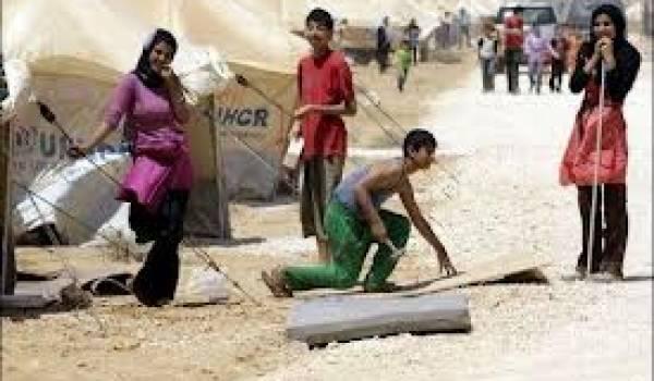Cette guerre civile a fait des Syriens un peuple d'exilés.