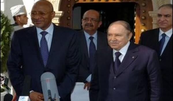 Lors de la visite de Soumeylou Boubèye Maiga, l'ex-ministre Malien des Affaires étrangères en 2011