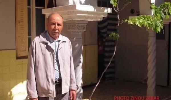 Mohamed Smaïn, harcelé par la justice pour avoir révélé à la presse le massacre de Relizane en 1997