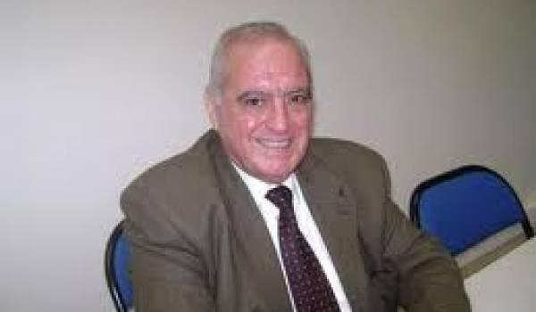 Hocine Malti, auteur de L'histoire secrète du pétrole algérien.
