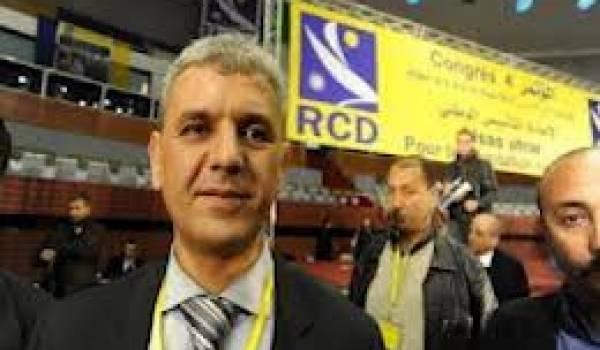 Le président du RCD.