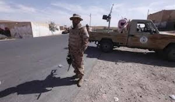L'armée libyenne a pris le contrôle de cette ville réputée proche de l'ancien régime
