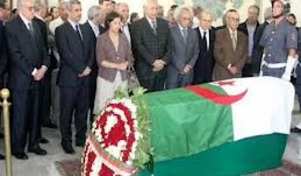 Pierre Chaulet enterré au cimetière de Diar Essaada.