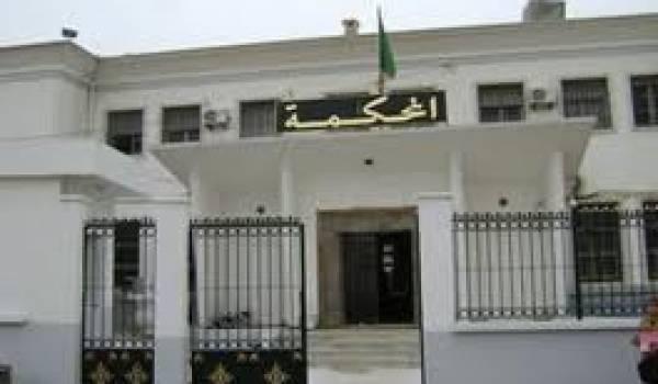 Le tribunal d'Oran