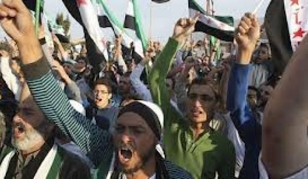 Une manifestatio anti-régime a été organisée à Idlib
