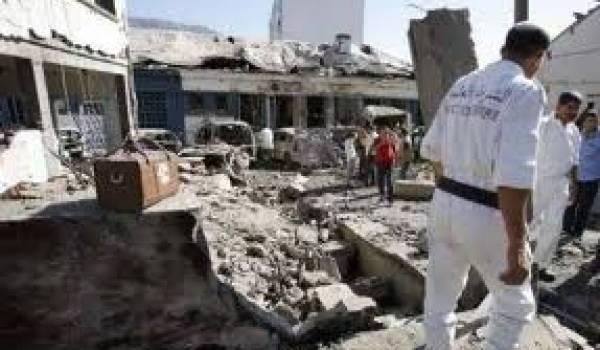 L'explosion a fait huit victimes.