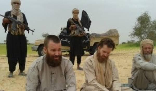 Aqmi détient neuf Européens en otages quelque part dans la région nord du Mali.
