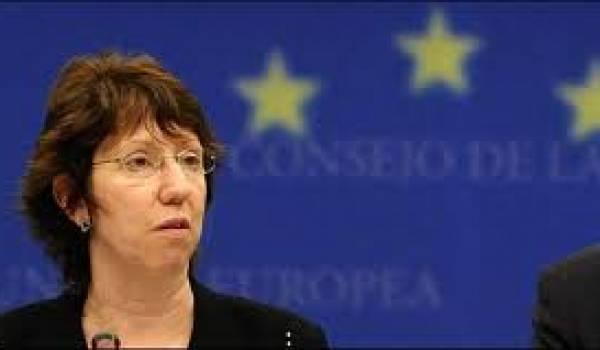 Catherine Ashton, la patronne de la diplomatie européenne.