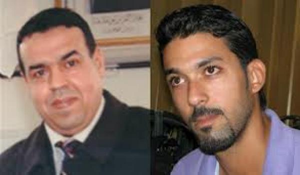 Othmani Mohamed (batonnier auteur de la suspension) et le jeune avocat Benbrahim