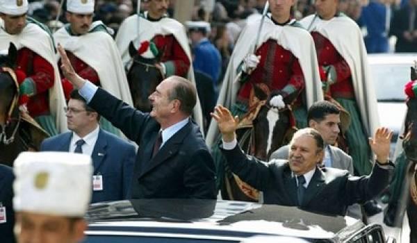Chirac et Bouteflika, un contentieux historique au coeur de leur pouvoir respectif.