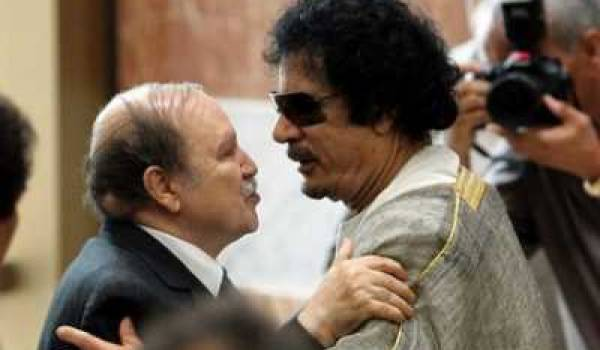 Bouteflika et Kadhafi : une conceration très intime qui laisse des traces.