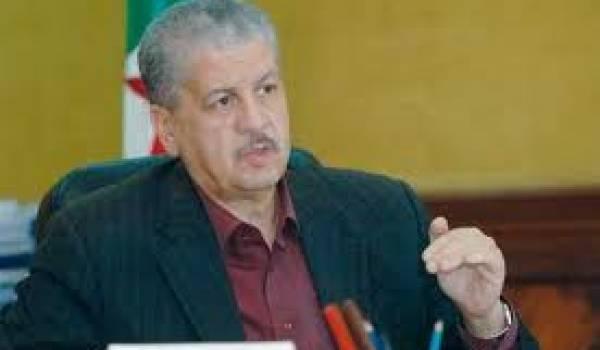 Abdelmalek Sellal, l'exécutant des décisions de Bouteflika