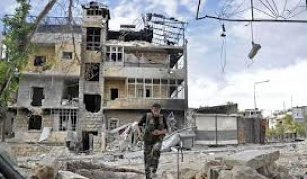 L'éaéroport et Damas sont les théâtres de violents combats.