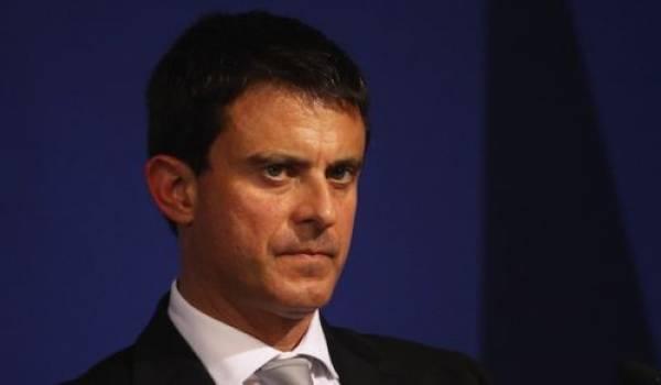 Manuel Valls, ministre de l'intérieur français.
