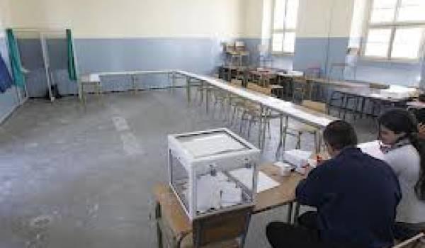Les bureaux de vote sont restés vide.