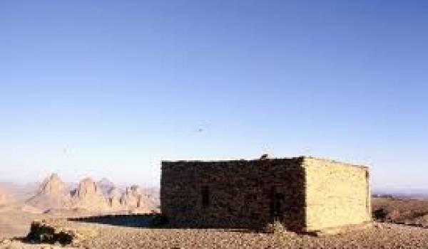 L'ermitage de Père de Foucauld dans le Tassili.