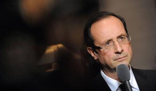 François Hollande, président français.