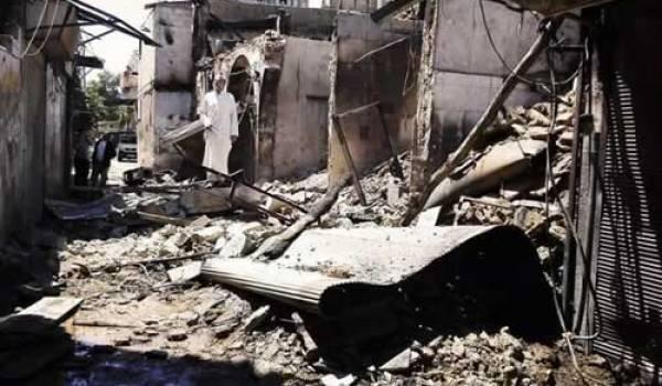 Alep, ce matin du vendredi 27 juillet 2012