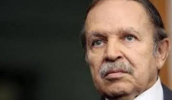 Le président est plus que jamais sourd aux changement de l'Algérie