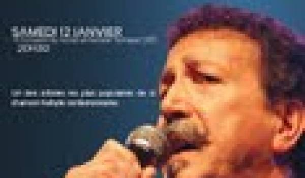 L'immense chanteur donnera deux concerts en janvier.