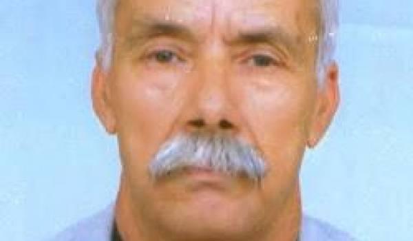 Mohamed Bentabet, ancien divisionnaire à la retraite.