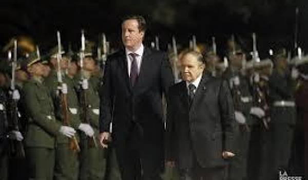 Bouteflika et Cameron