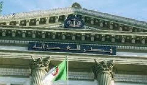 Abderrazak El Para, le grand absent du procès qui a eu lieu au tribunal criminel d'Alger.