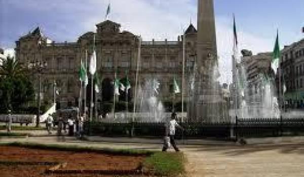 La ville d'Oran a connu des protestations.