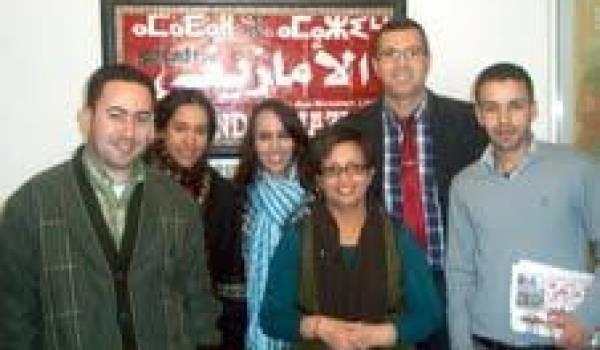 L'équipe du journal Le Monde amazigh