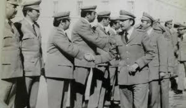 Kasdi Merbah, ancien chef de la Sécurité militaire.