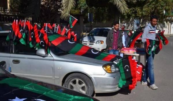 Fête mais aussi beaucoup de crainte d'une flambée de violence en Libye