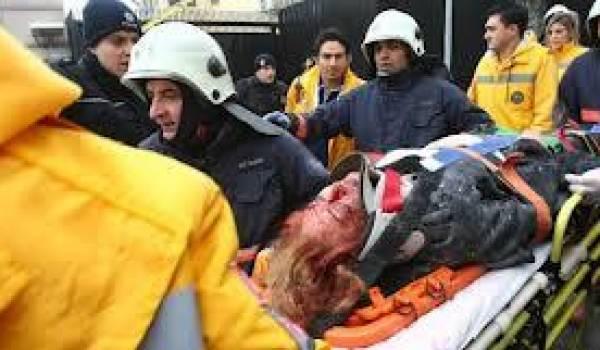 Un agent de sécurité tué et une femme gravement touchée.