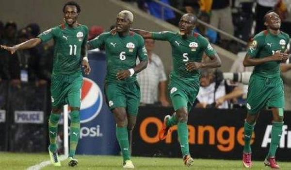 Les joueurs du Burkina Faso ont fait l'essentiel.
