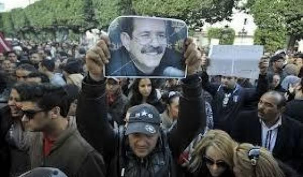 L'assassinat de Chokri a poussé des milliers de Tunisiens à manifester mercredi contre Ennahda.