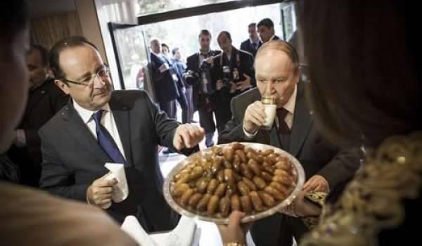 François Hollande et Abdelaziz Bouteflika en décembre dernier