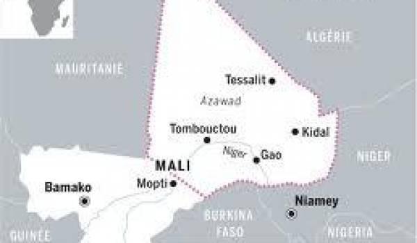 Territoire revendiqué par le MNLA.