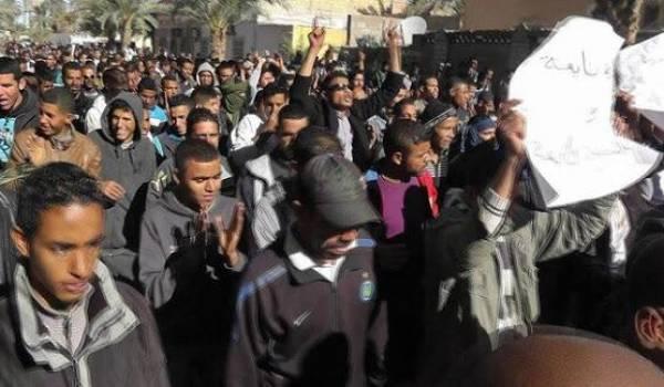 Malgré les nombreuses manifestations, les chômeurs du Sud ne sont pas écoutés.