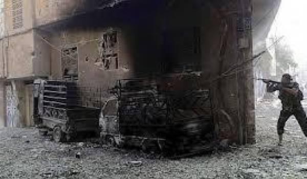 Des combats autour de l'aéroport de Damas