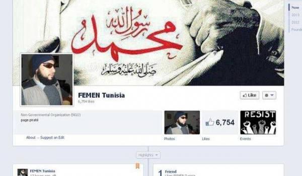 Les hackers islamistes se sont trompés de page Facebook