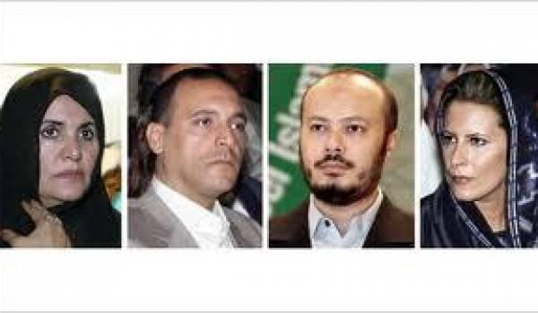 Une partie de la famille Kadhafi est en Algérie.