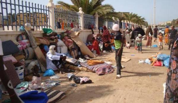 Des subsahariens qui investissent le quartier Yaghmouracène.
