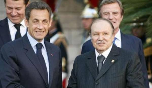 Sarkozy et Bouteflika